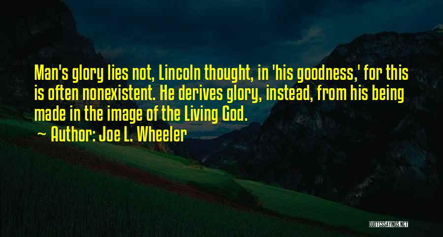 Joe L. Wheeler Quotes 1930843