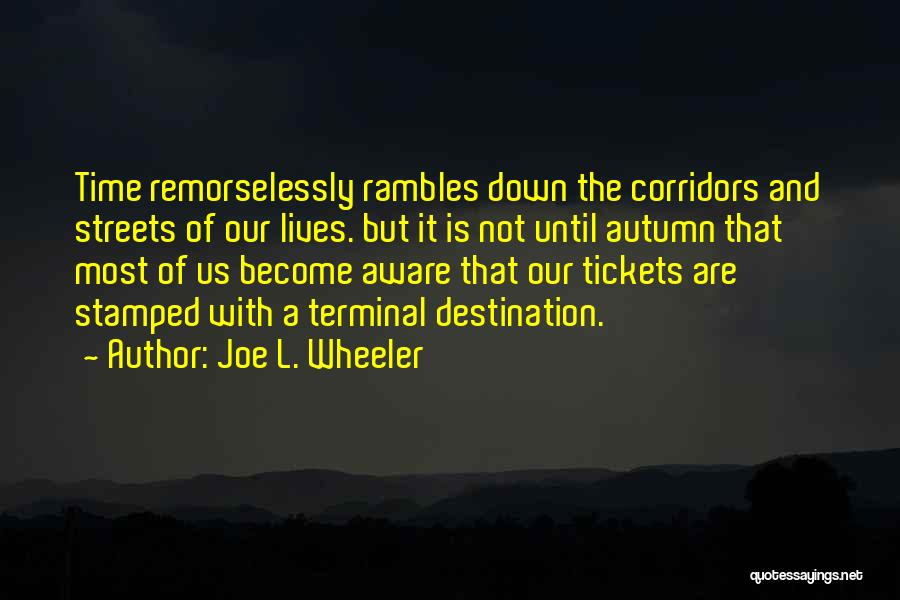 Joe L. Wheeler Quotes 2040883
