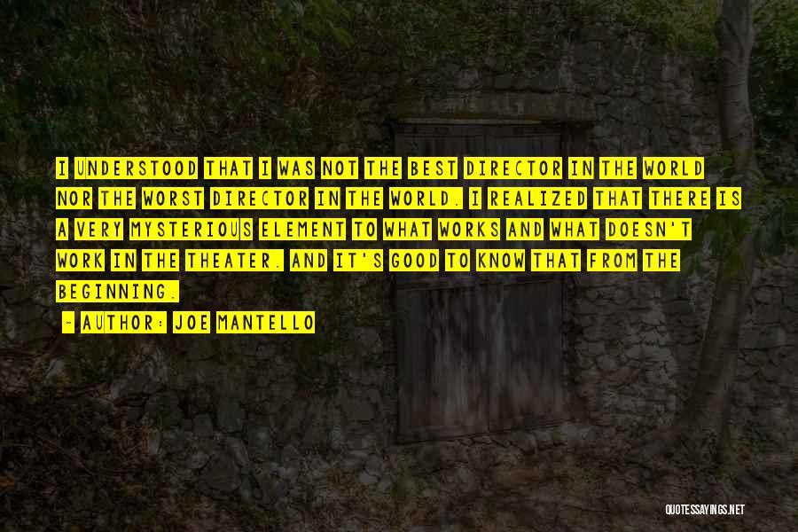 Joe Mantello Quotes 1968700