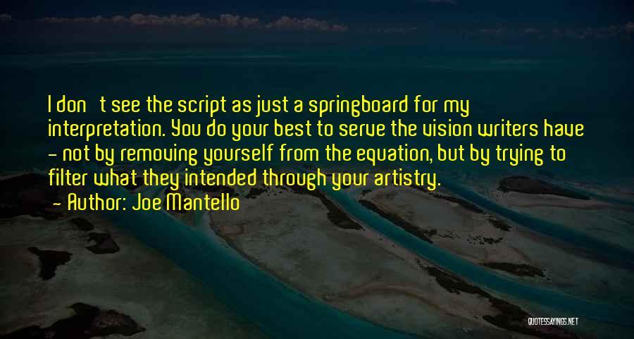 Joe Mantello Quotes 2165810