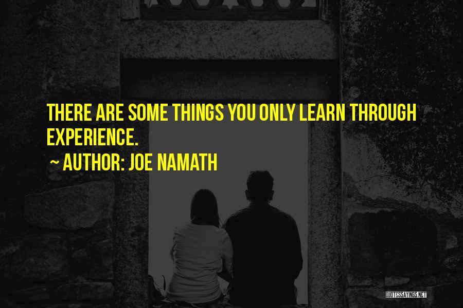 Joe Namath Quotes 1062650