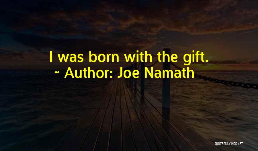 Joe Namath Quotes 111802