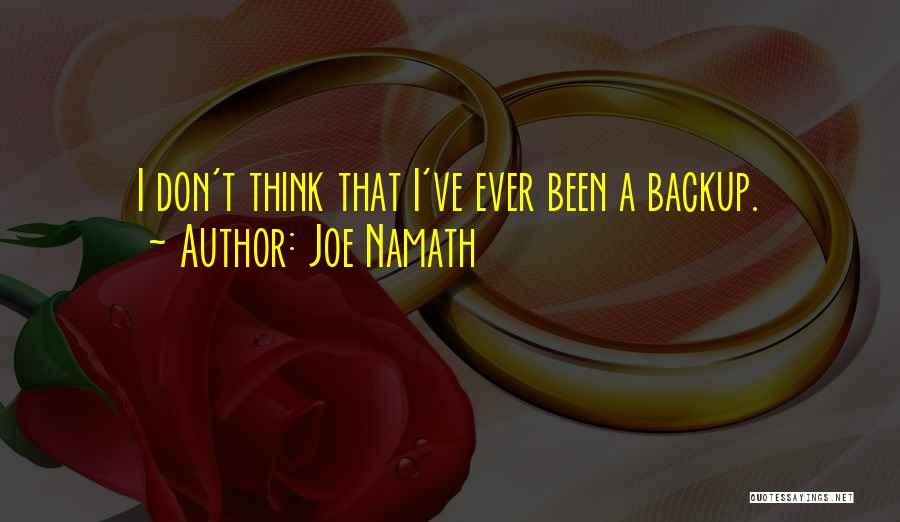 Joe Namath Quotes 1251678