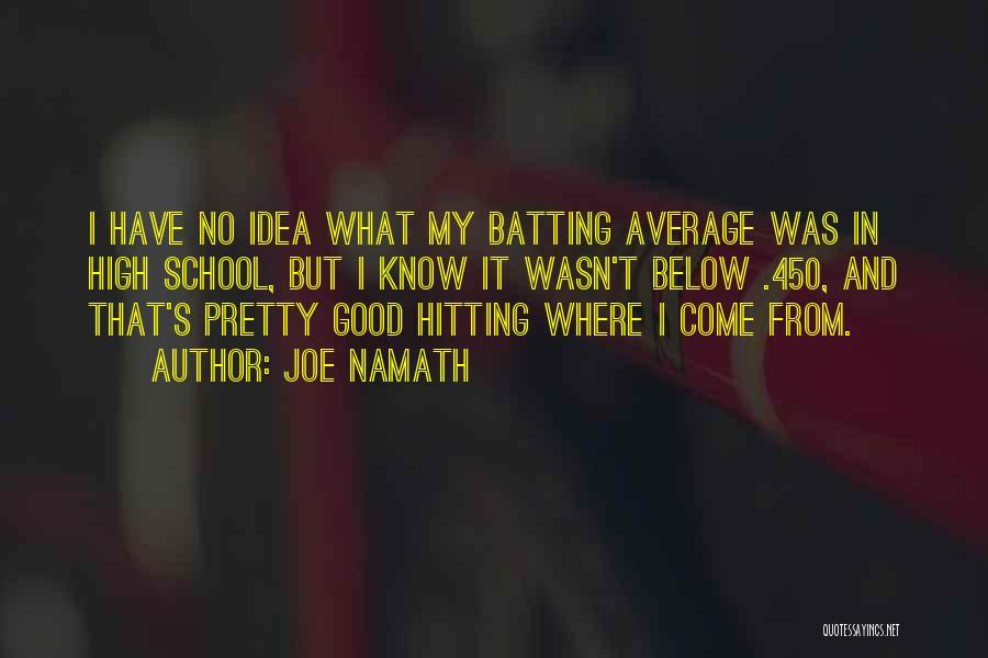 Joe Namath Quotes 1586408