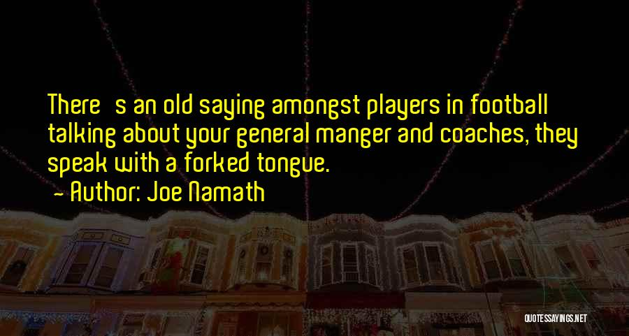 Joe Namath Quotes 236734