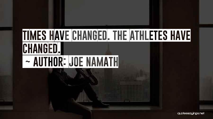 Joe Namath Quotes 410165