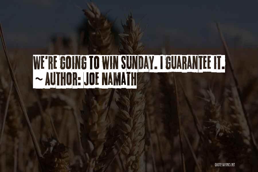 Joe Namath Quotes 625899