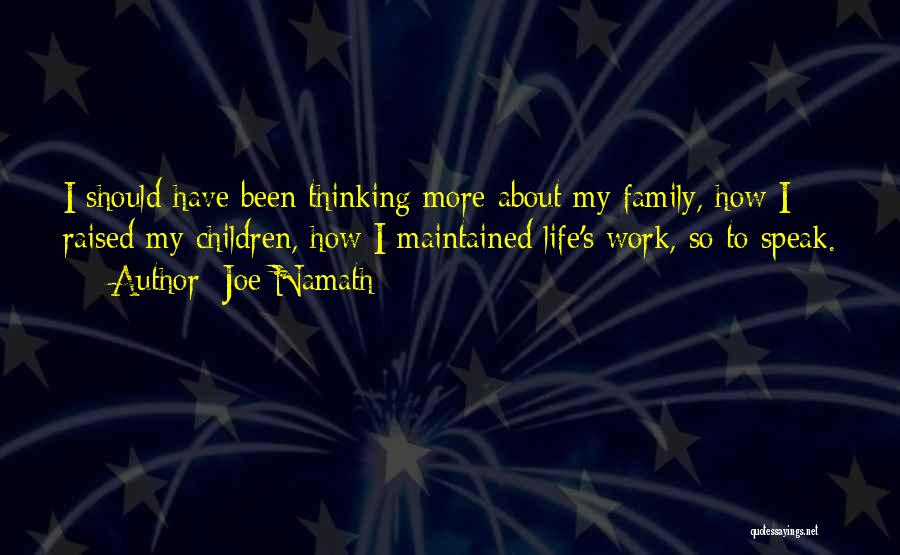 Joe Namath Quotes 728754