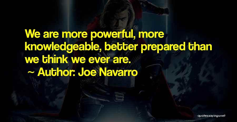 Joe Navarro Quotes 141253