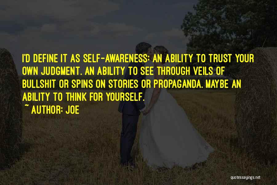 Joe Quotes 129986