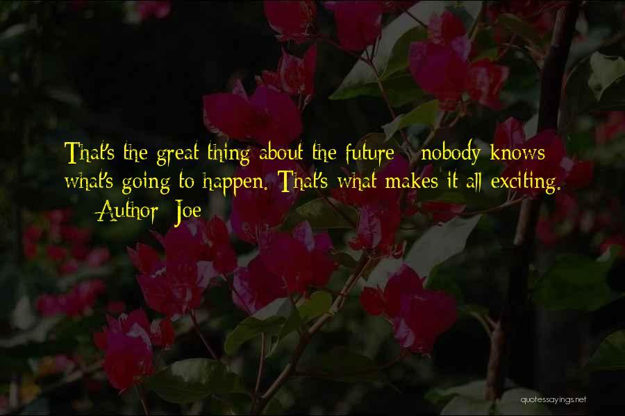 Joe Quotes 1457200