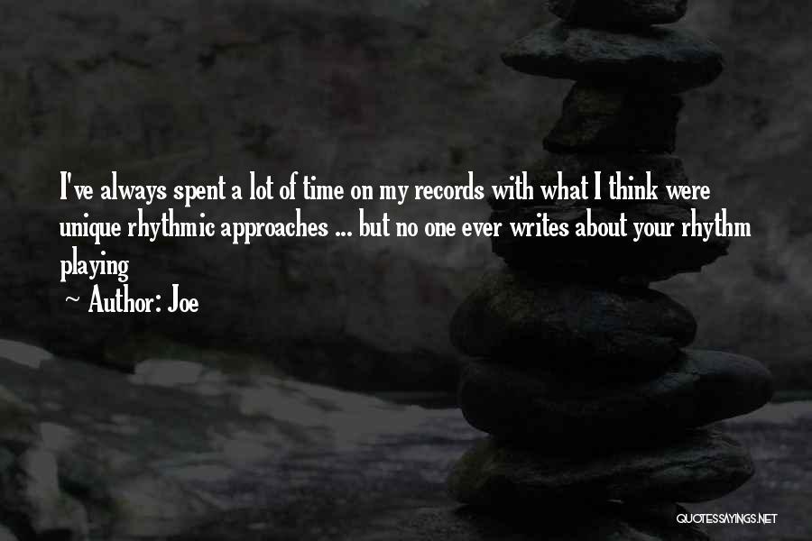 Joe Quotes 191583