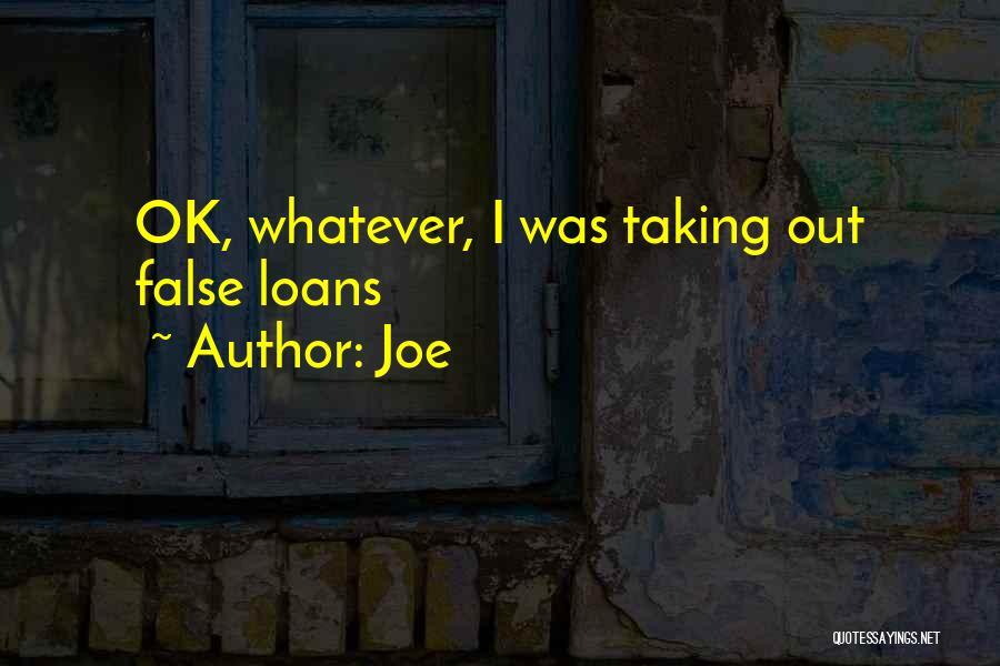 Joe Quotes 331146