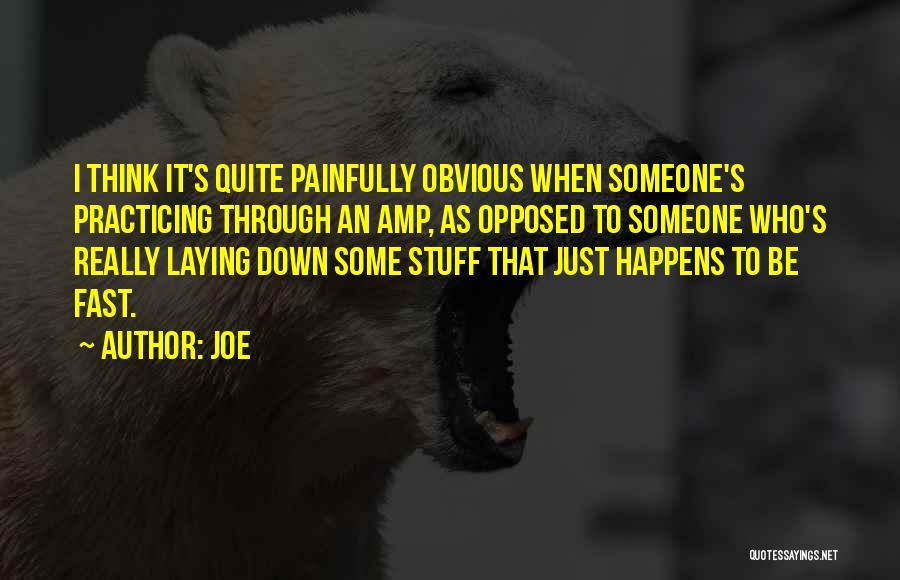 Joe Quotes 770176