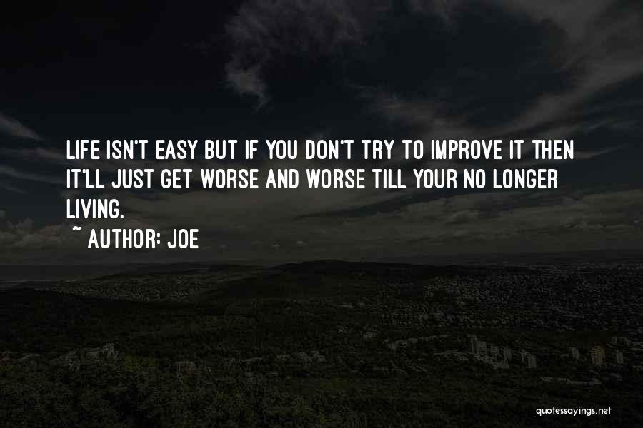 Joe Quotes 800181