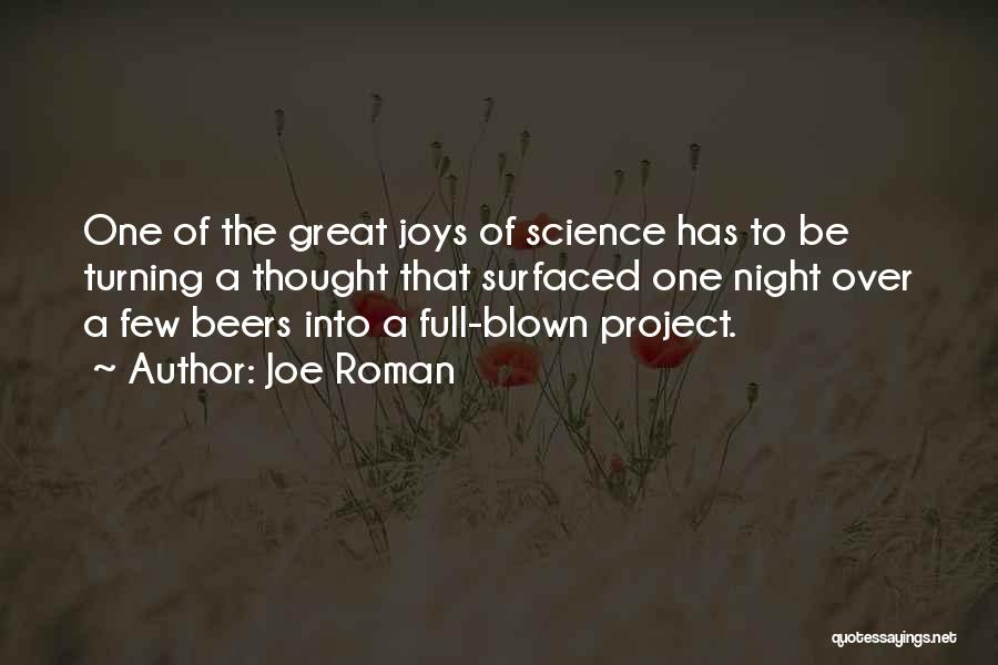Joe Roman Quotes 208214