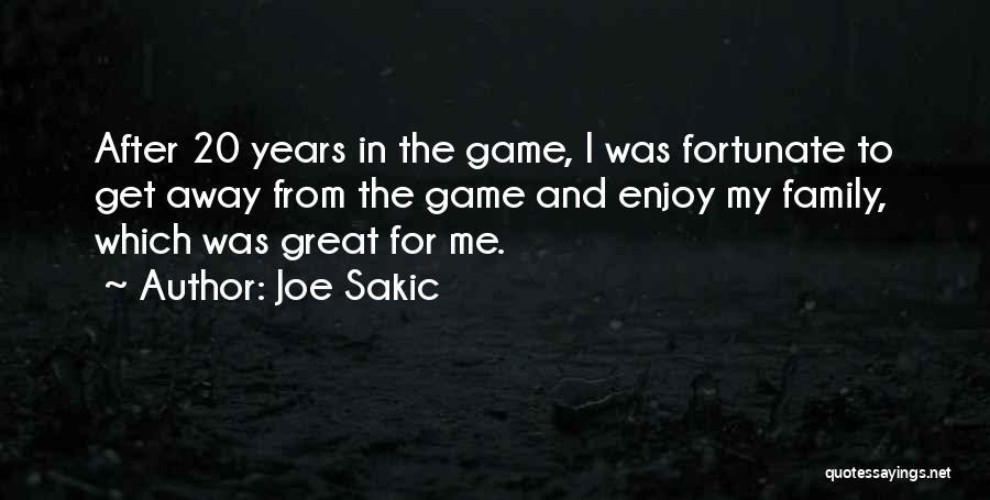 Joe Sakic Quotes 1091721