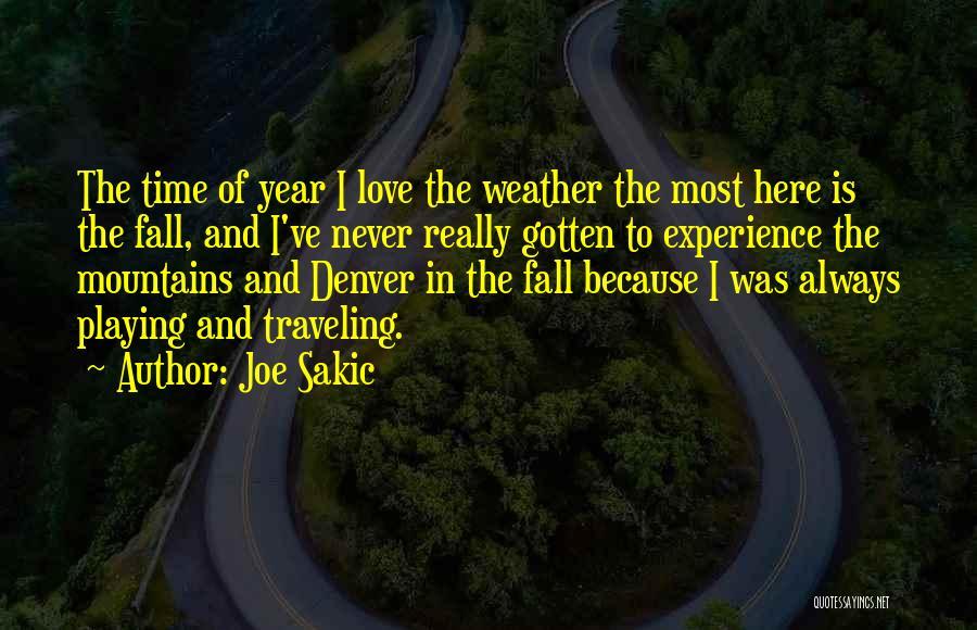 Joe Sakic Quotes 1614680