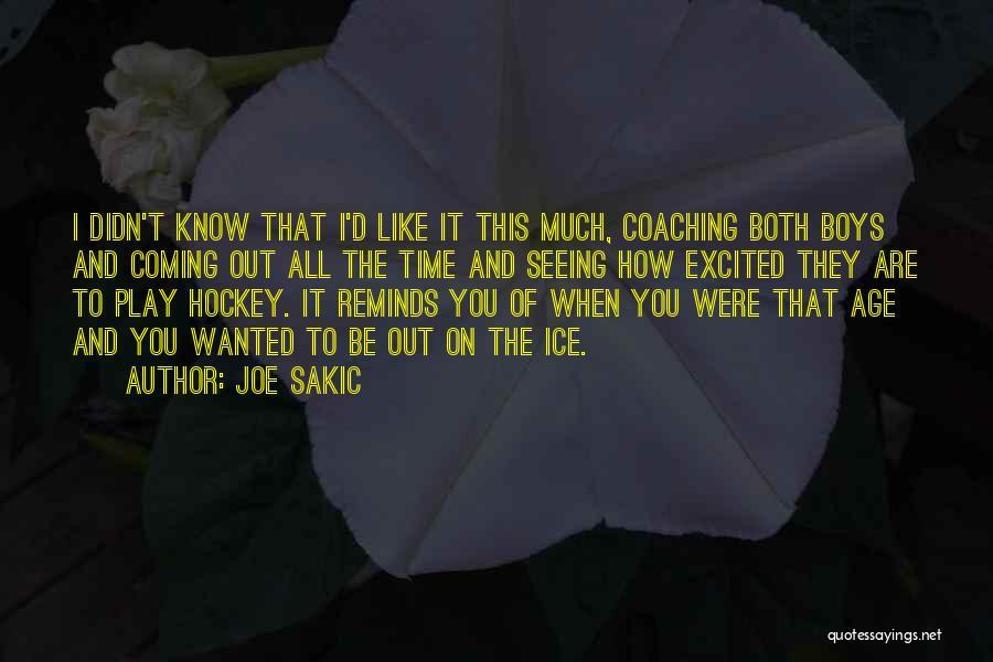 Joe Sakic Quotes 1859168