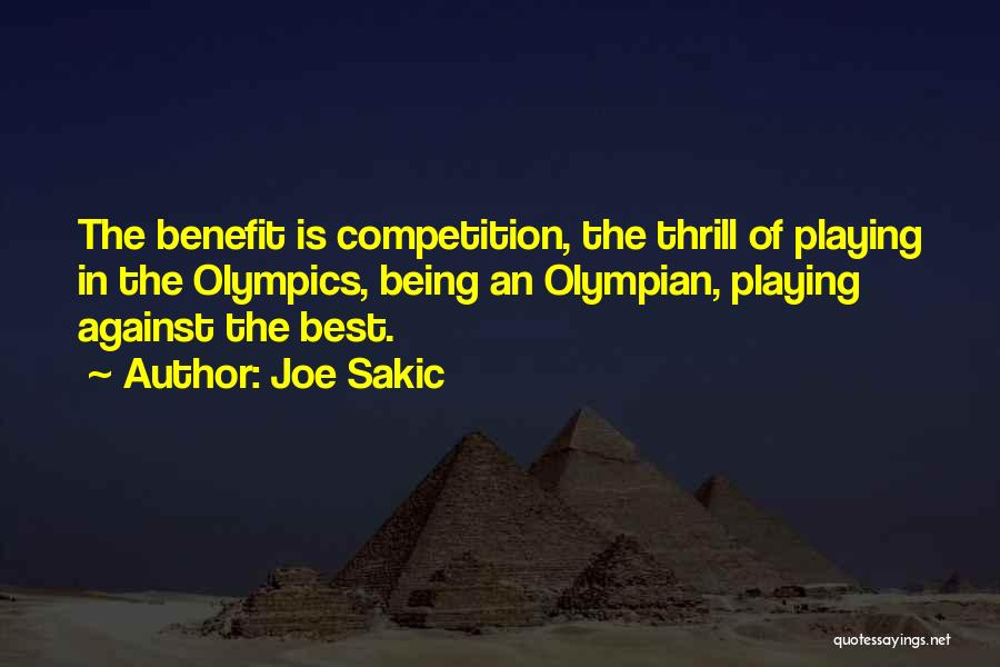 Joe Sakic Quotes 2040652