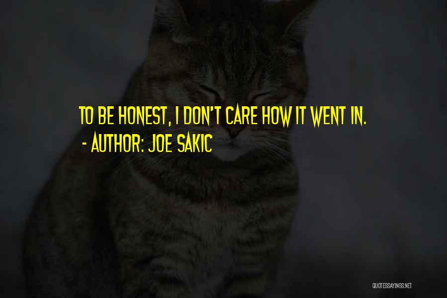 Joe Sakic Quotes 2158482