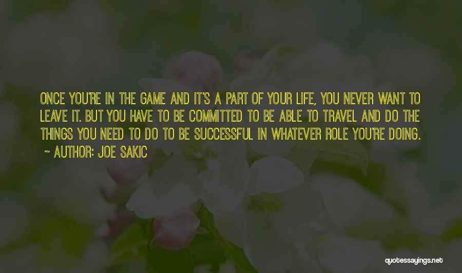 Joe Sakic Quotes 519204
