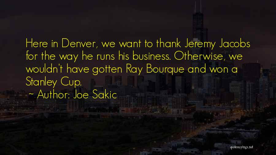 Joe Sakic Quotes 857746