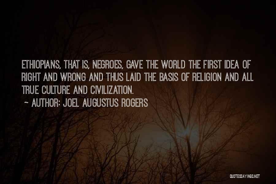 Joel Augustus Rogers Quotes 850205