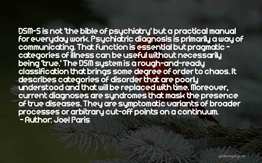Joel Paris Quotes 1031516