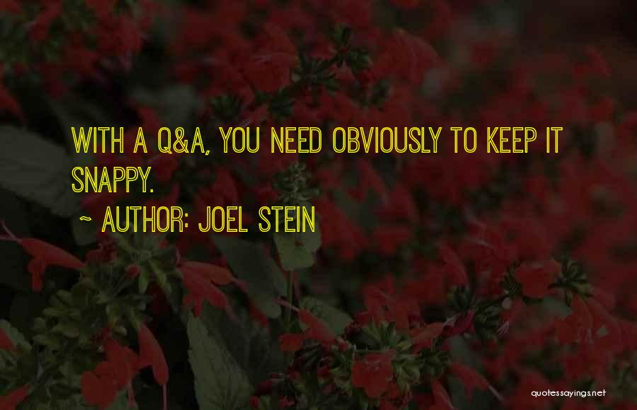 Joel Stein Quotes 115435