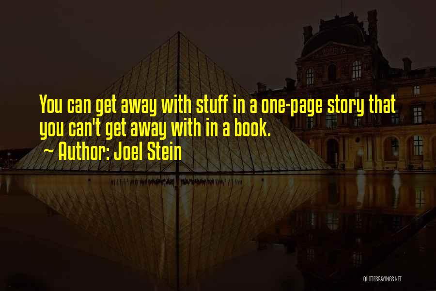 Joel Stein Quotes 1811191