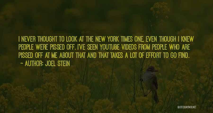 Joel Stein Quotes 1944035