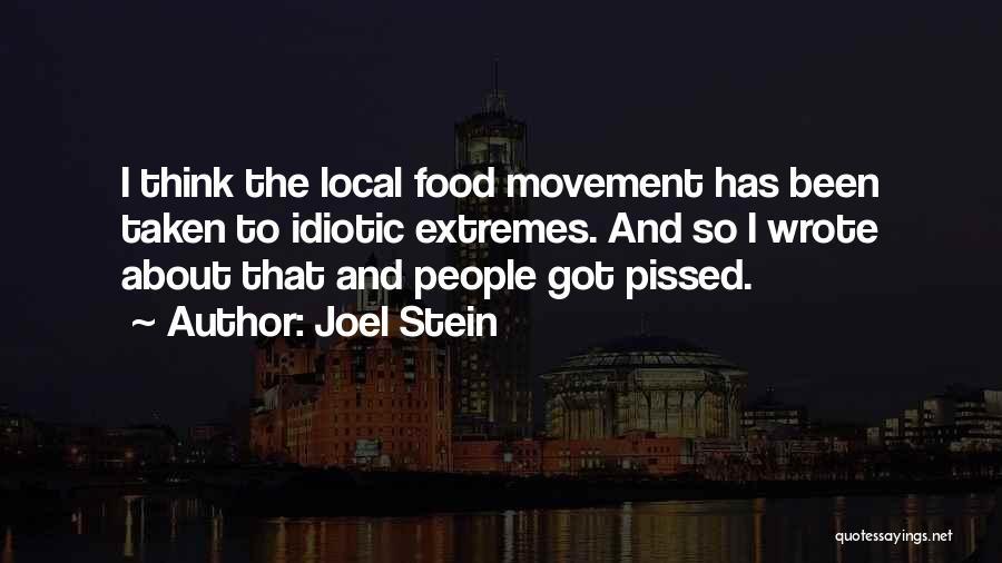 Joel Stein Quotes 1978226