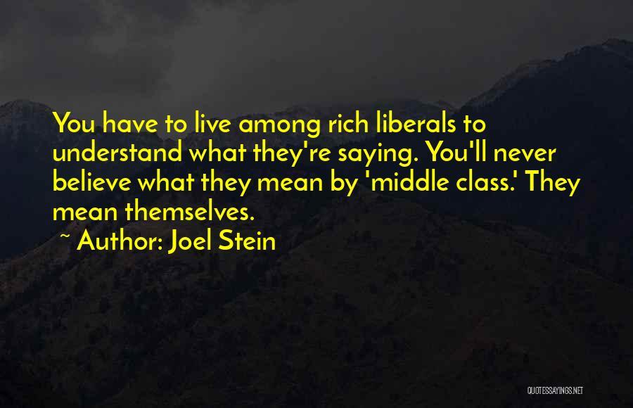 Joel Stein Quotes 816785