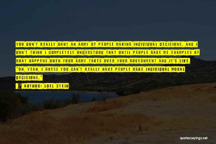 Joel Stein Quotes 830665
