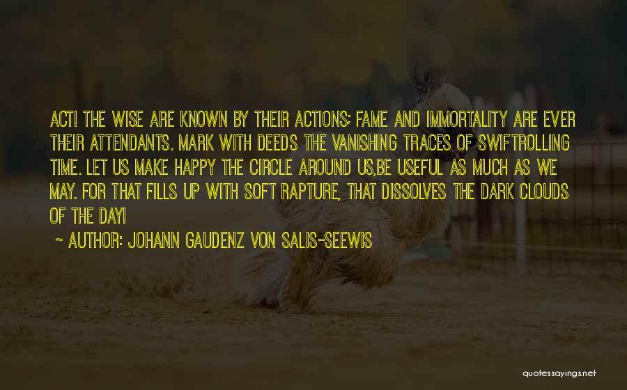 Johann Gaudenz Von Salis-Seewis Quotes 1982190