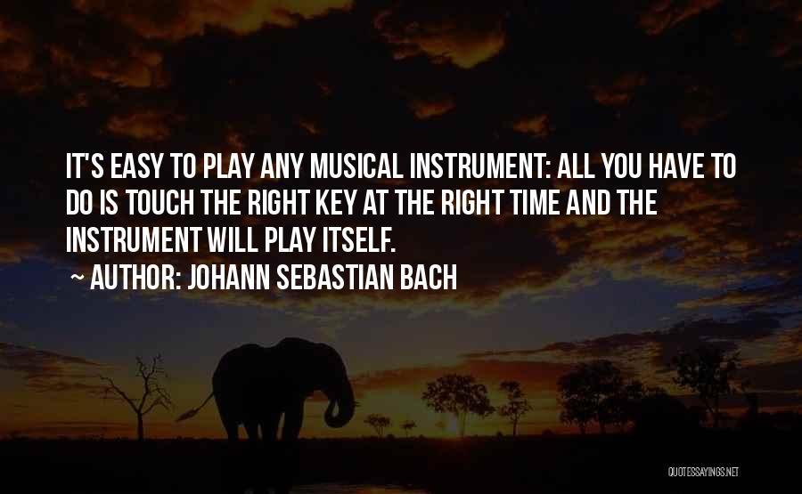Johann Sebastian Bach Quotes 1357275