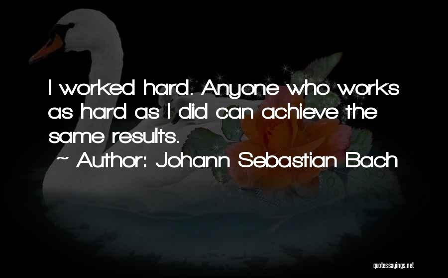 Johann Sebastian Bach Quotes 2205717