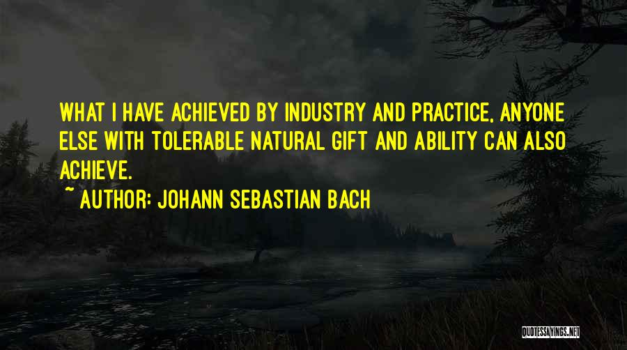 Johann Sebastian Bach Quotes 935410