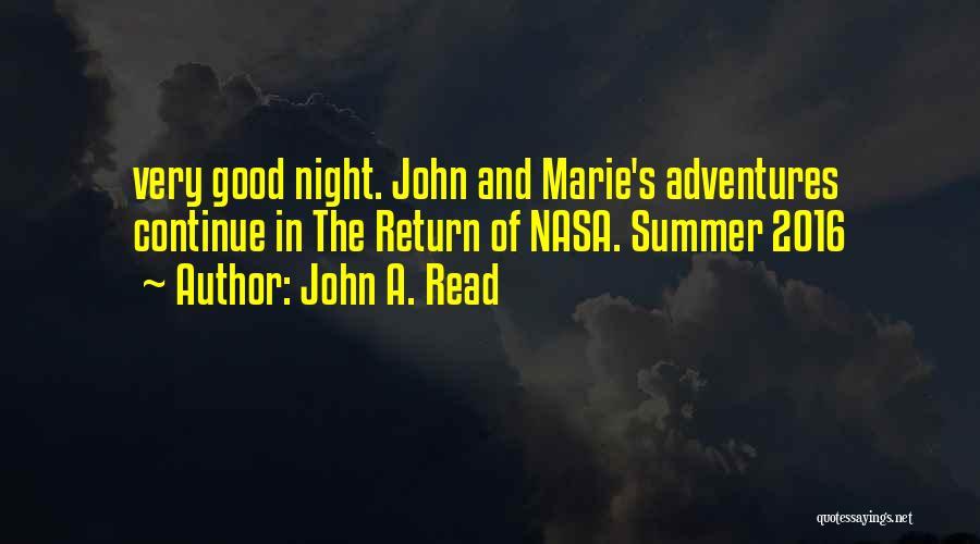 John A. Read Quotes 1340020