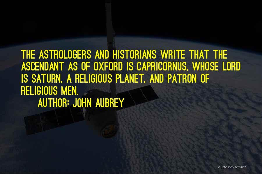 John Aubrey Quotes 1287706