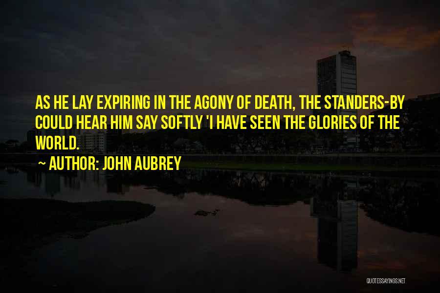 John Aubrey Quotes 1392118
