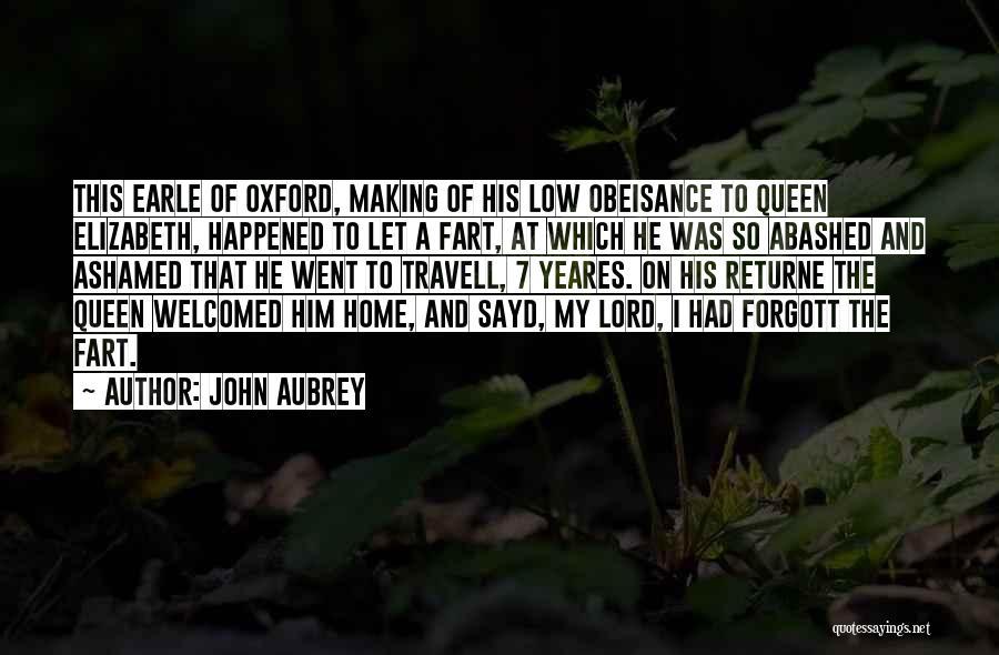 John Aubrey Quotes 145277