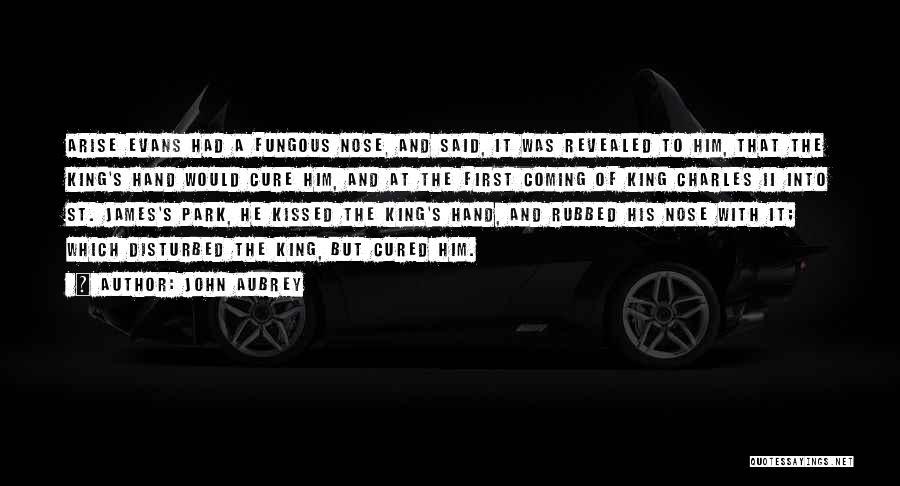John Aubrey Quotes 171849