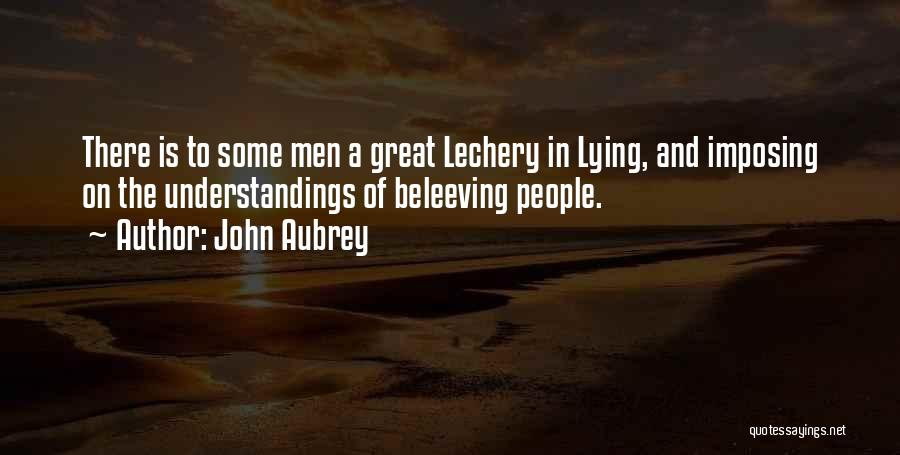 John Aubrey Quotes 2225099