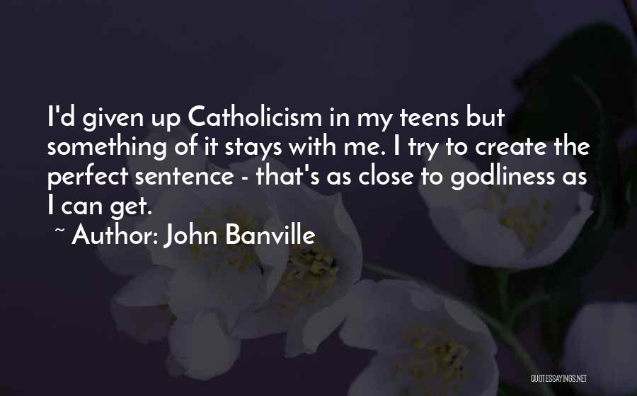 John Banville Quotes 1238547