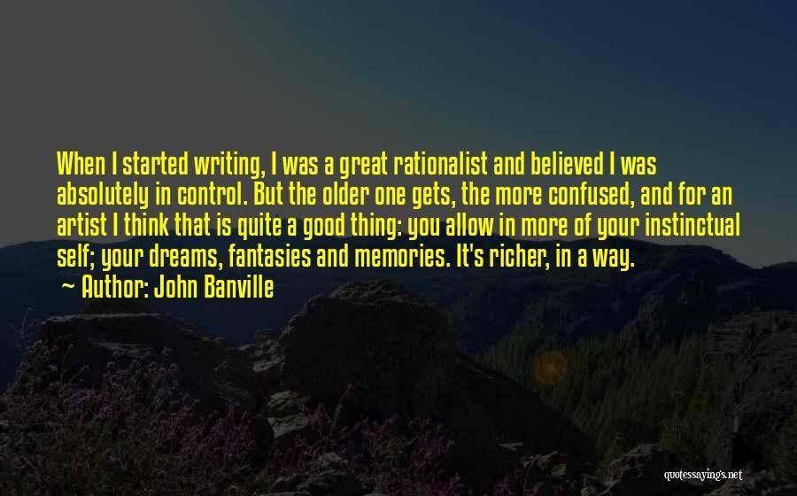 John Banville Quotes 1277280