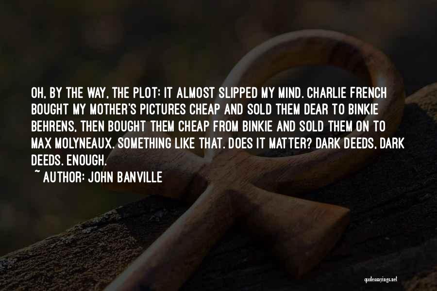John Banville Quotes 893185