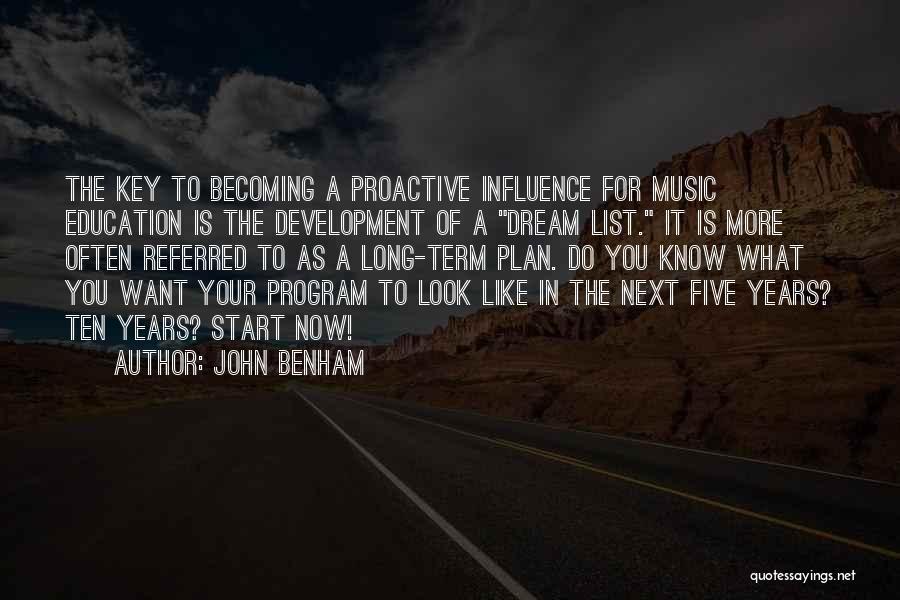 John Benham Quotes 1090186