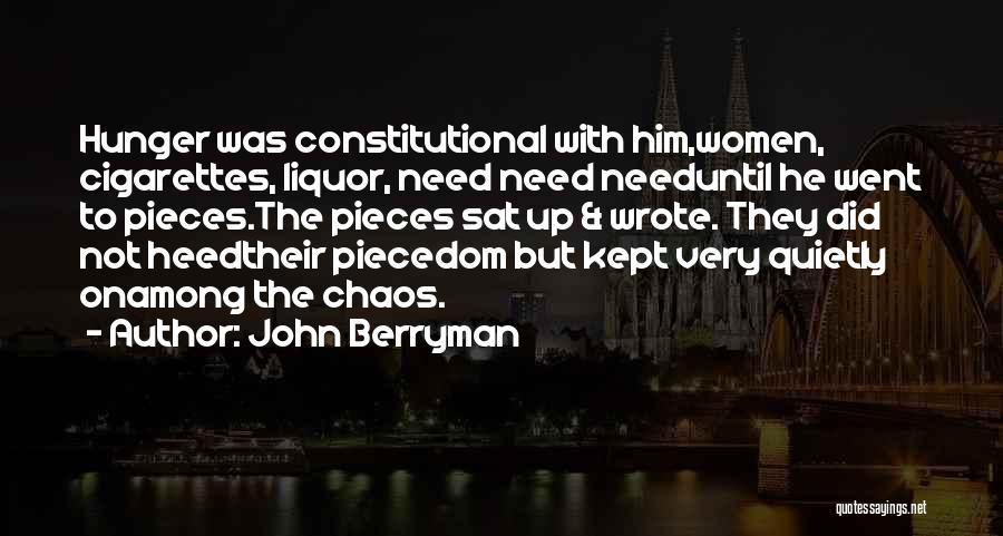 John Berryman Quotes 1043489